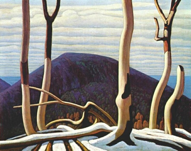 Lawren Harris - Group of Seven -Canadian Artists