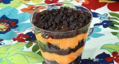 Daniel Tiger Striped Yogurt Parfaits . Birthday Party Food . PBS Parents ...
