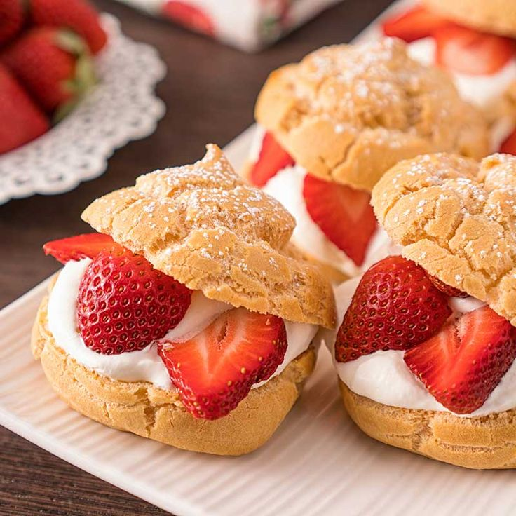 Cream puffs are made with choux pastry — a cooked dough that is the base for many popular French desserts. The result is a puffed, light and...