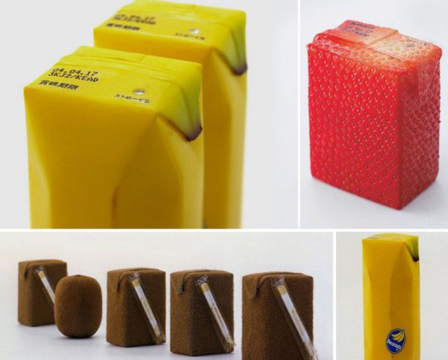 Some Very Clever Packaging Designs for Products. No guessing about what's inside! #design #packaging
