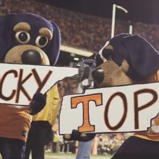 The Pride of the Southland Marching Band played Rocky Top a lot on Sunday night in Neyland Stadium...'Rocky Top picked as one of the best fight songs in the country'