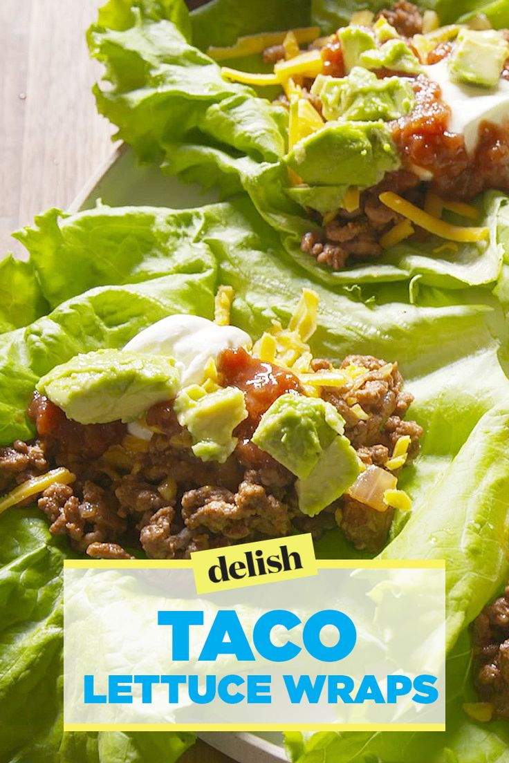Image result for lettuce wraps taco recipe chicken