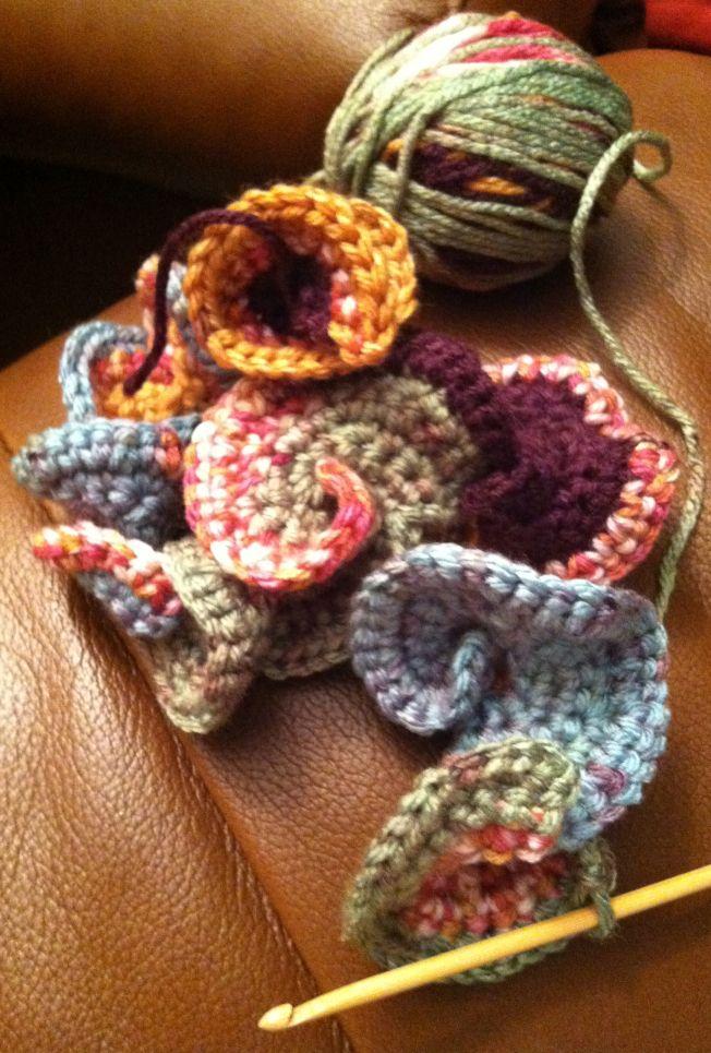 261 besten Crochet Flowers Bilder auf Pinterest | Häkelideen ...