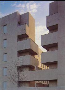Viviendas sociales, Manuel de las Casas, Alcobendas (Madrid), 1996