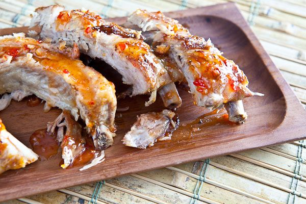 Fall off the Bone Baby Back Ribs with Sweet Chili Sauce | Steamy ...