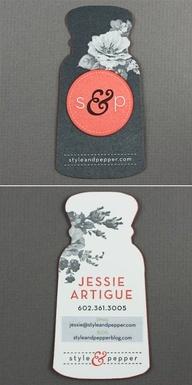 di-cut b plus one colour business cards