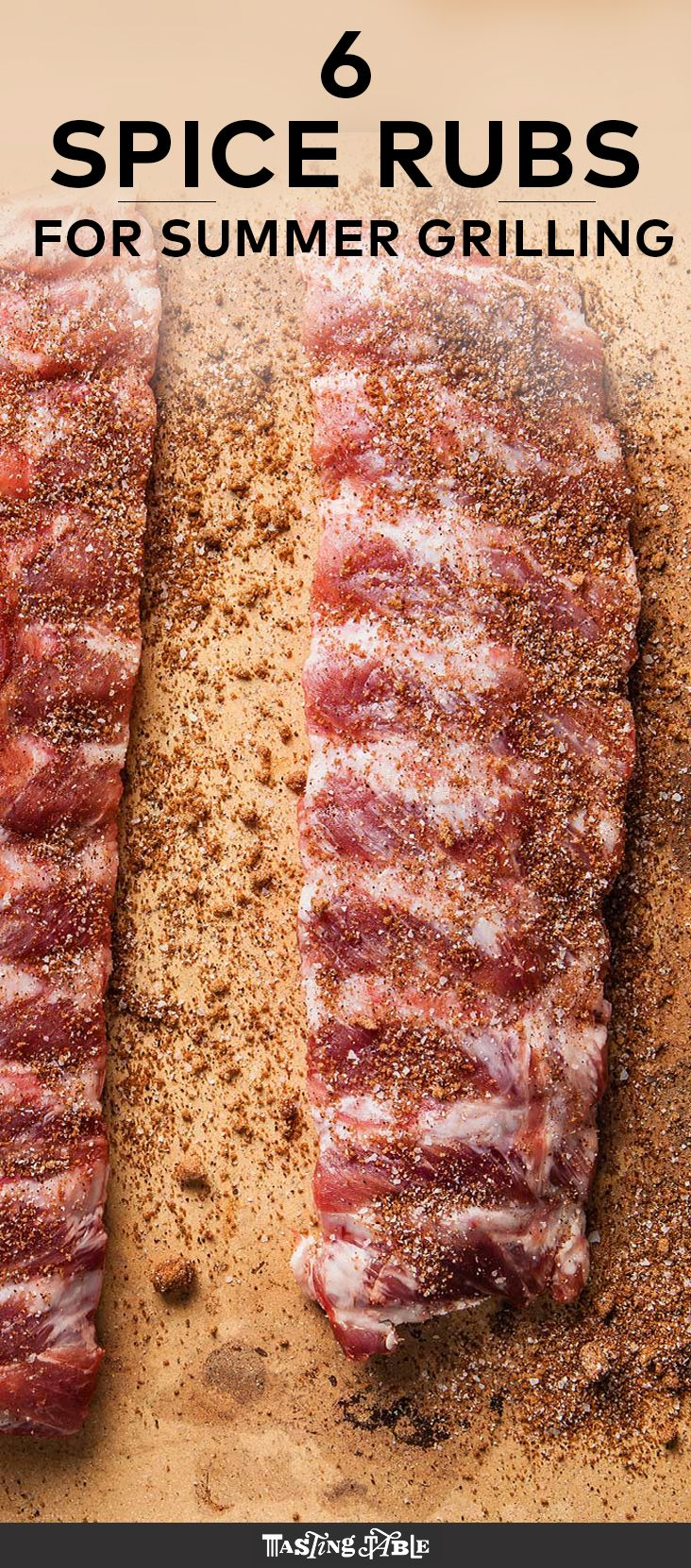 6 spice rubs to achieve summer grilling perfection.