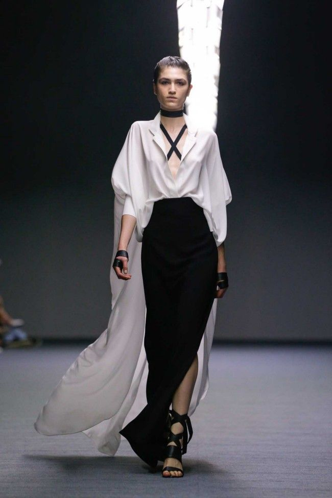 All the runway looks from Carla Zampatti: Sydney Australian Fashion Shows Spring/Summer 2014/15
