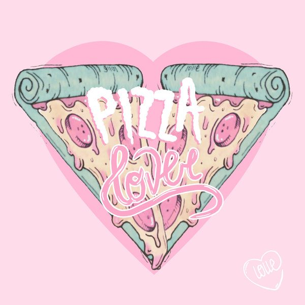 Pizza Lover Art Print by LOll3