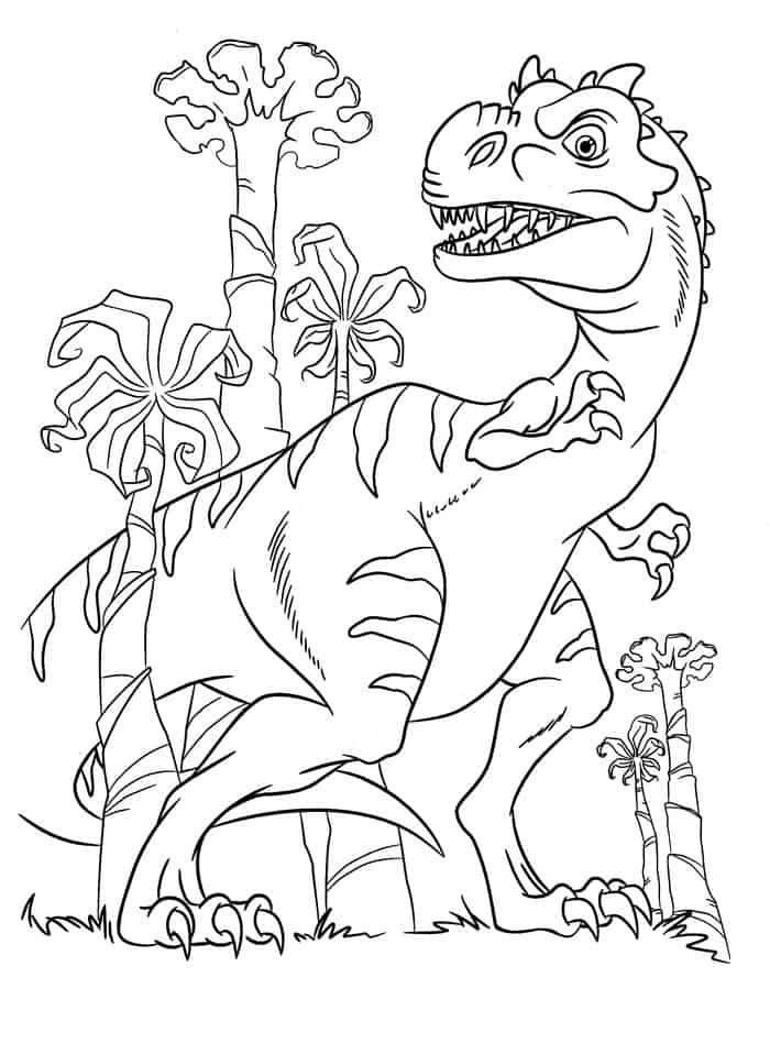 Dinosaurs Coloring Pages For Kids In 2020 With Images Dinosaur