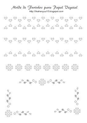 Lika Hanyuu - Artesanato -Papel Vegetal XD