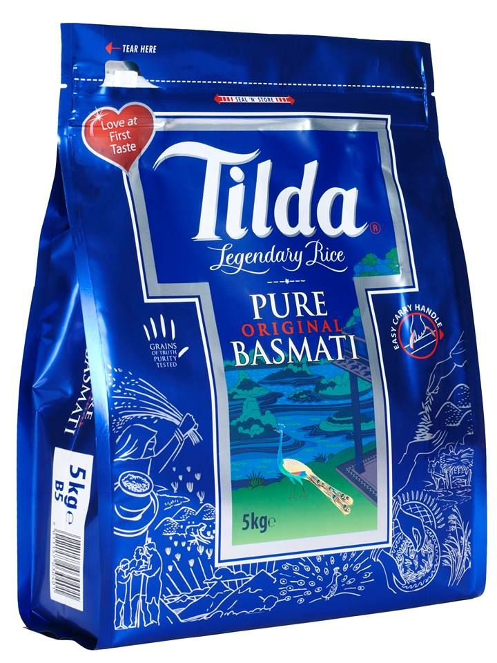 Eat well and live well with #delicious #pure #Tilda #Basmati Rice. Get it at #ApnaBazar #Dayton. www.apnabazarcashandcarry.com #Food #Grocery