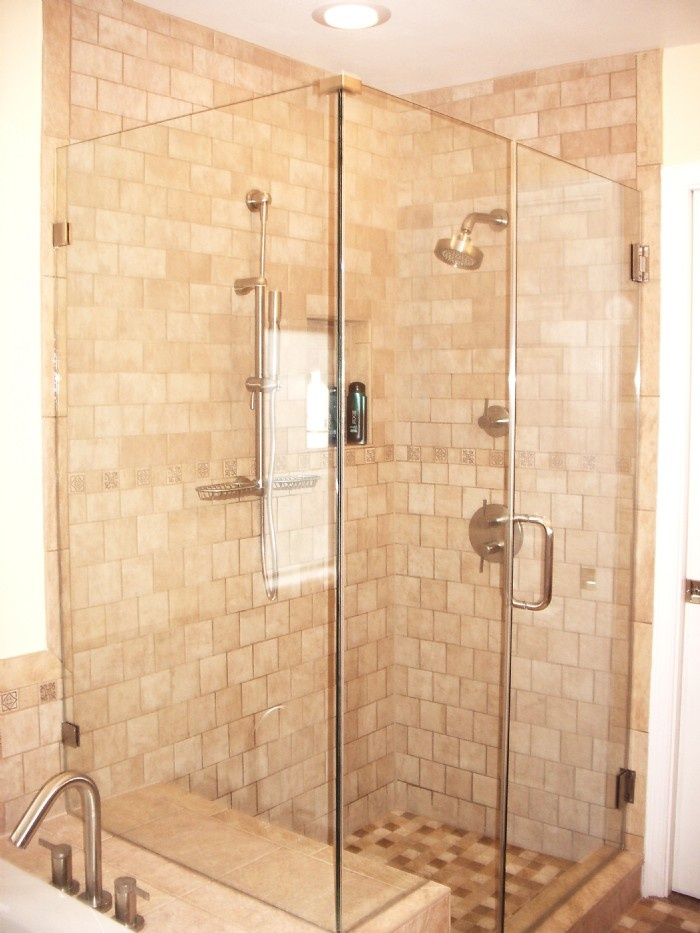 8 best bath shower reno images on Pinterest   Bathroom, Master ...