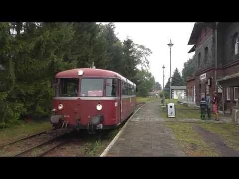 Kleinbahn Pritzwalk - Putlitz Teil 6, Führerstandsmitfahrt am Tag der Stilllegung! - YouTube