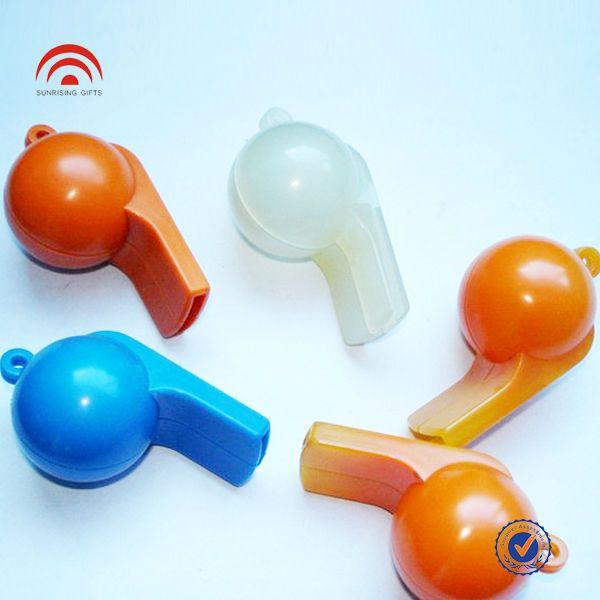 cute football whistle for promotional gift