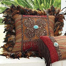 Feather Pillow King Ranch Saddle Shop