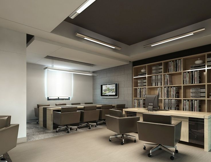 Ceo office with meeting room ofis pinterest ceo for Modern executive office design ideas
