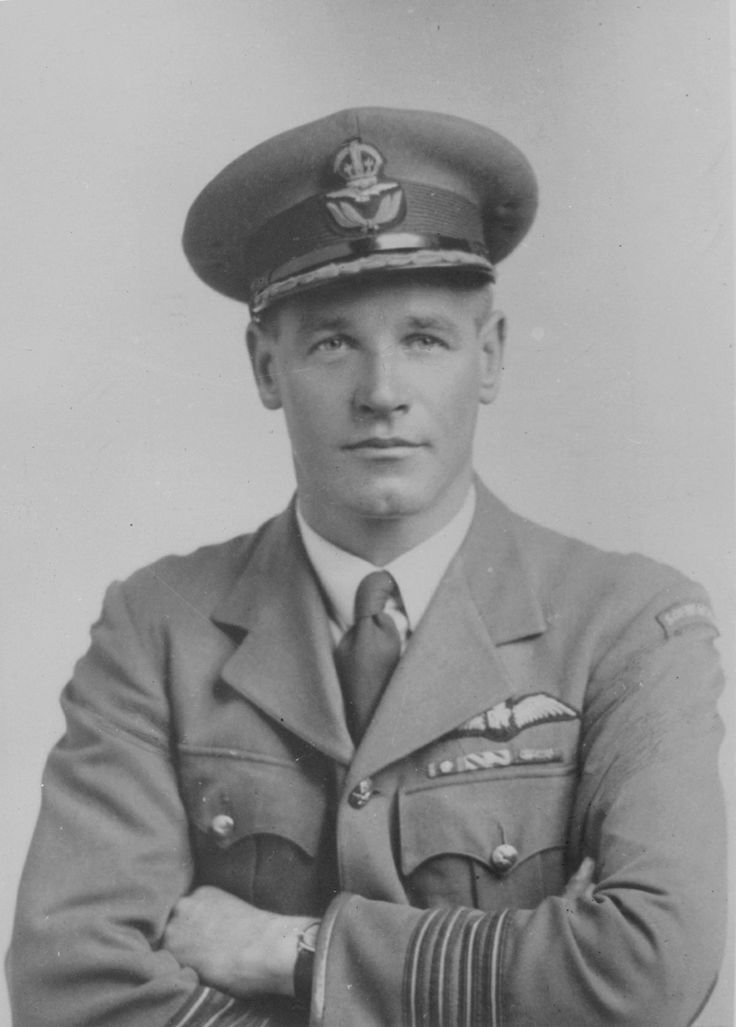 """South African Adolph Gysbert """"Sailor"""" Malan (1910-1963), a famed RAF fighter pilot who led No. 74 Squadron RAF, which distinguished itself during the war and especially during the Battle of Britain, where it shot down almost 40 aircraft."""