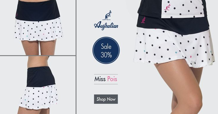 When stye meets comfort! #MissPois #2016 #collection #sportswear #tennis #woman #style #comfort
