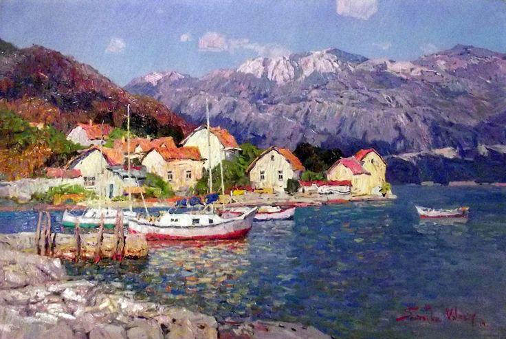 Montenegro, Boca Kotorska by Valery Shmatko. Source: http://reflectiongallery.com