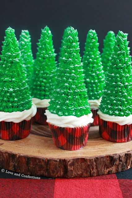Cupcakes, Cannoli and Chocolate Dip - 3 Recipes For Your Christmas Dessert Table from LoveandConfections.com
