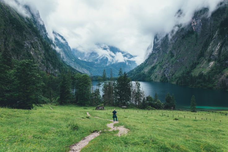 BRIAN FULDA — Hiking through the Alps to Germany's tallest...