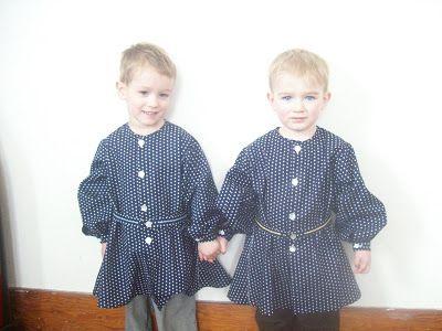 Romantic History: Tunics for David and Judah