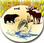 Lower Twin Lakes Lodge Nakina Ontario Fly In Fishing Ambiance - drive-to resort convenience.  Clean very spacious housekeeping cabins along the shore of Lower Twin Lakes and a a three acre campground. Click for more details.