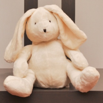 A gorgeous floppy bunny. The perfect easter companion ~ $28.00