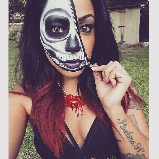 The 25+ best Skeleton makeup ideas on Pinterest   Pretty skeleton ...
