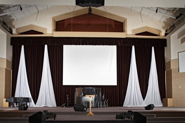 Church Drapery Stage Curtains Stage Curtain Pictures