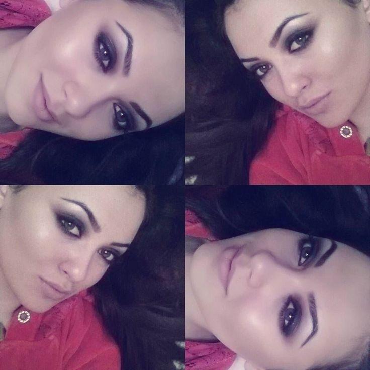 """http://www.youtube.com/channel/UCqEqHuax3qm6eGA6K06_MmQ?sub_confirmation=1 Концертный вариант """"Смоки Айс"""" с мерцающем лицом!очень круто смотрится на солнце и под лучами прожекторов на сцене!!!-на этой прекрастной ноте закончился мой курс """"Сам себе визажист"""")))#makeupaddict #makeup #makeuplover #макияжгуб #макияжнальчик #мейкап #тени #vividstudio #vividconversion #vivid.prokat #академиякрасоты #макияж #мейкап #профисвоегодела #нальчик #кавказ #кбр by islam_and_oksana_hakunovy"""