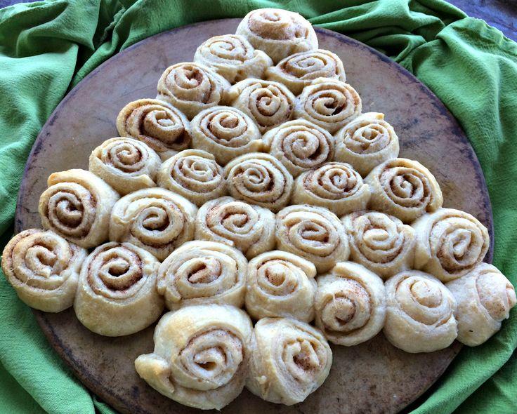 Cinnamon Sugar Crescent Rolls