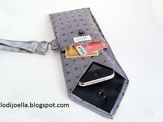 De corbata a funda para móvil, gafas, cámaras,...