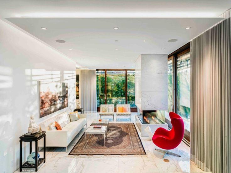 fliesen aus marmor wohnzimmer boden teppich vorhnge beige - Marmorboden Wohnzimmer