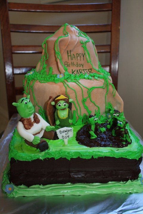 364 Best Images About Shrek Cakes On Pinterest