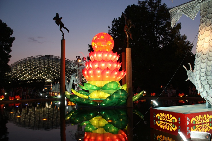 Pin by elizabeth purcell on places america the beautiful Missouri botanical garden lantern festival