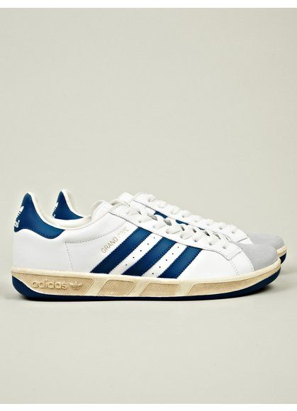 ADIDAS ORIGINALS  MEN'S VINTAGE GRAND PRIX SNEAKER