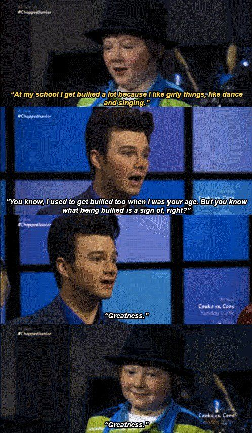 Chris Colfer is truly inspiring.