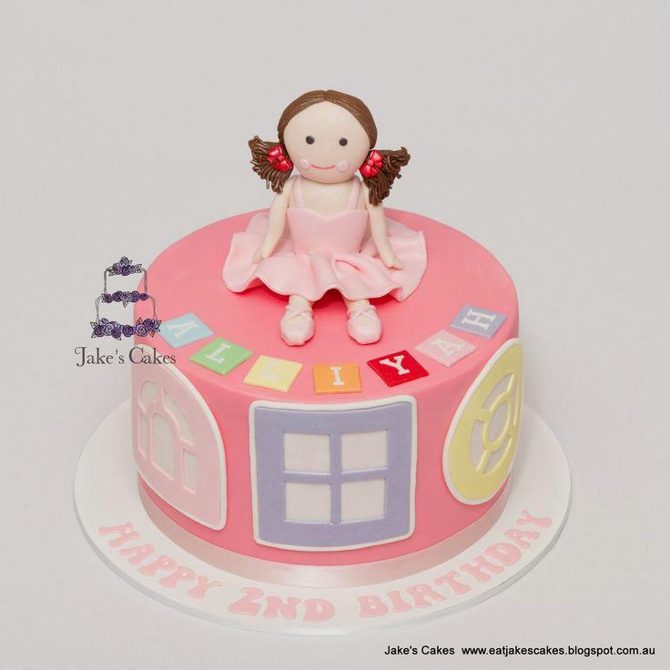 Jake's Cakes: Jemima - Playschool Cake
