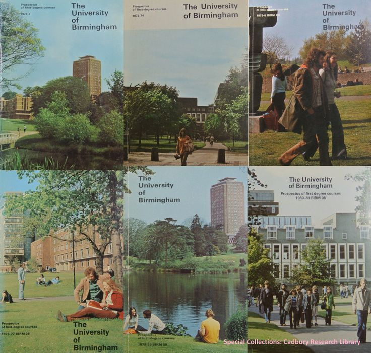 Ever wondered how the University looked in the 1970s!?! We've managed to unearth some old school prospectuses of our beloved campus courtesy of our friends at the Cadbury Research Library: Special Collections. Don't forget, our 2015 prospectus is hot off the press and you can order or download it here: www.birmingham.ac.uk/undergraduate/prospectus/index.aspx #ThrowbackThursday REF: University of Birmingham prospectus, years 1972-1980, (Cadbury Research Library: Special Collections)