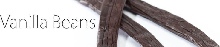 Bourbon-Madagascar, Tahitian, Indian, Mexican, Ugandan, Tongan and Indonesian varieties of vanilla beans to choose from!