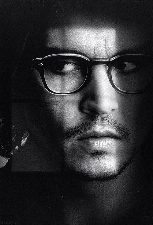 "Stars wearing Glasses | Bespectacled Gentleman: Johnny Depp wears #Moscot Eyewear. Image from the movie ""Secret Window""  (found on: mslaswell.files.wordpress.com)"
