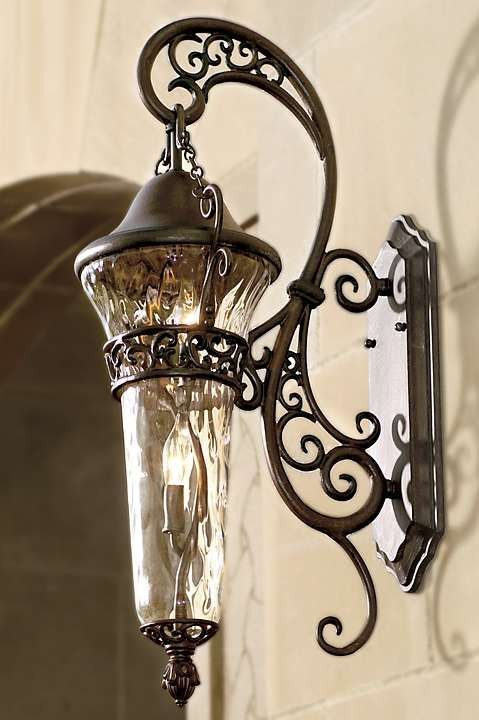 Use the elegant Anastasia Wall Sconce to frame your front door or simply hang to illuminate the outside of your home.: