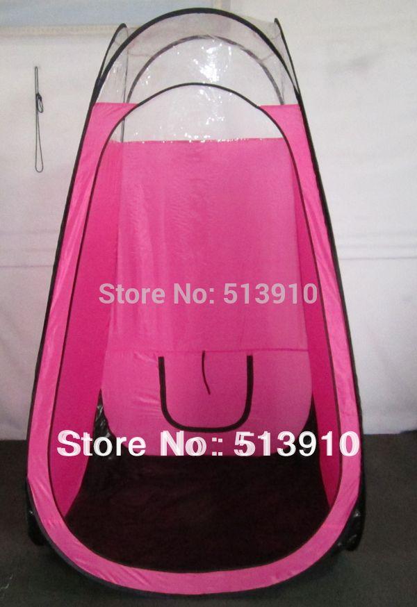 Профессиональный розовый/черный спрей загар палатки/Новый просвет всплывал загара Кабина/Солярии с ясным верхним