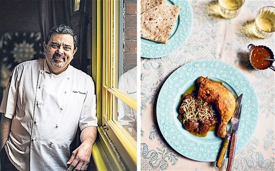 Cyrus Todiwala: Jardaloo ma murghi, chicken with apricots, is a delicious Parsee dish
