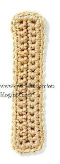 Letra I Crochet En Acción: abecedario