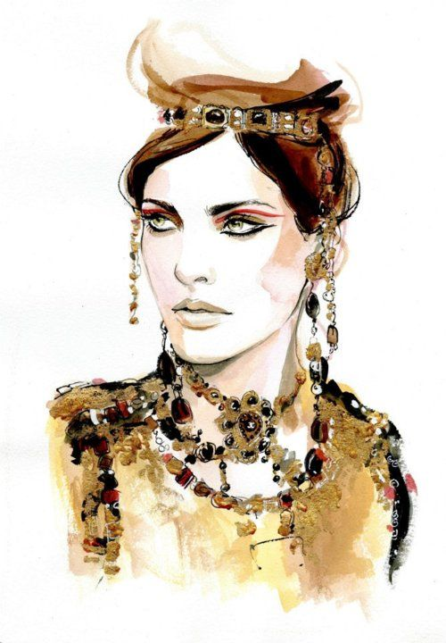 chanel fashion illustration