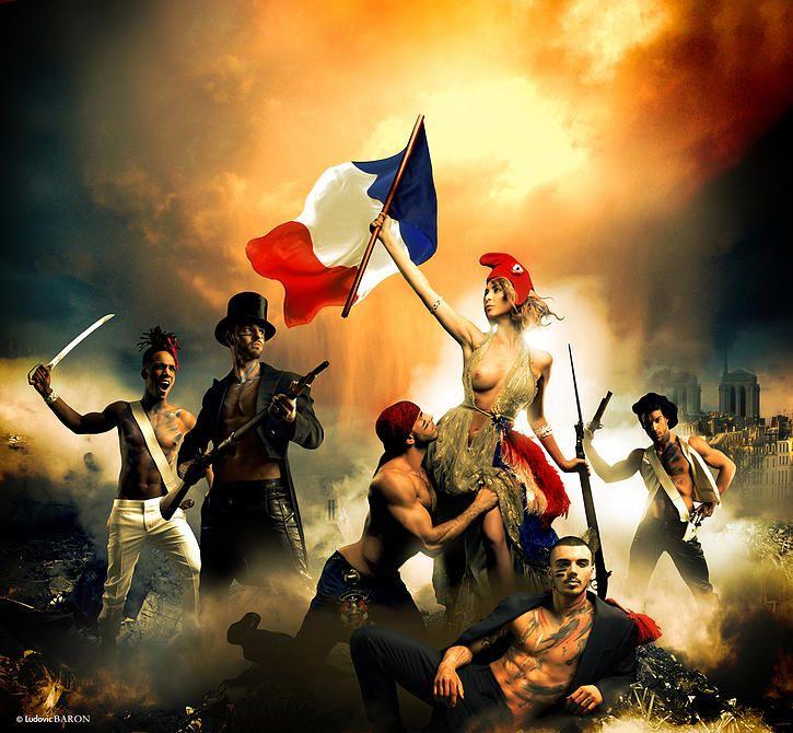 La liberté by Ludovic Baron