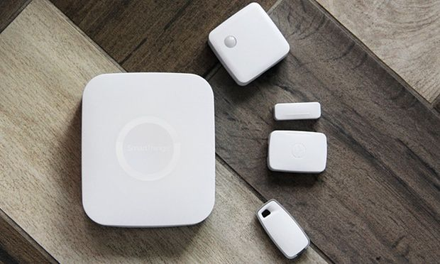 Whether you have two smart devices or 200, all you need is one Hub to create a smart home. Like a live-in translator, the Hub communicates with all of your different connected products–regardless of their wireless protocol–so that you can easily monitor and control them from the SmartThings app.